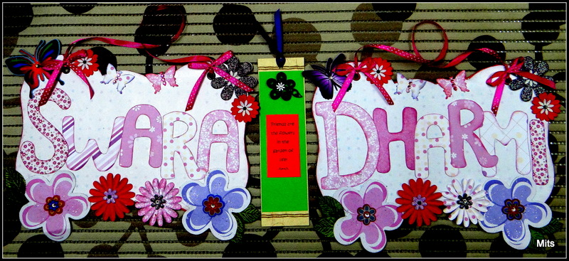 Hand-Made Name Plates