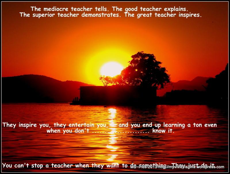 » Daily Prompt: Teacher's Pet